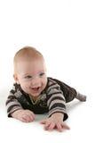 Rastejamento do bebê Imagem de Stock Royalty Free