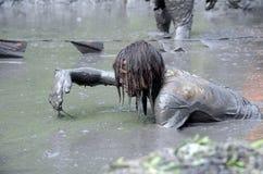 Rastejamento embora lama grossa Fotos de Stock Royalty Free