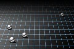 raster över spheres Fotografering för Bildbyråer