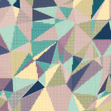 Raster abstract background. Abstract background with triangles and colorful geometric shapes. Texture pattern for covers, banners, booklets, etc. For web or Stock Image