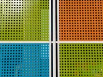 Raster av färger Fotografering för Bildbyråer