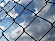 Raster av moln för blå himmel arkivbilder