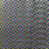 Raster background of colored circles Royalty Free Stock Images