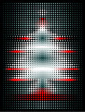 Raster Christmas tree Stock Photography