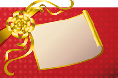 RASTER decorative present background Royalty Free Stock Image