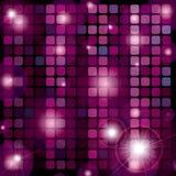 RASTER Disco-Kugel Muster Stockfotografie