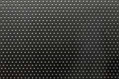 raster för metallprickmaskering med borrade hål Royaltyfria Bilder