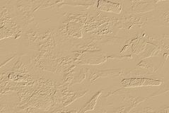 Raster graphics abstract background with texture of the cement with the imprints of the stones, cream and brown. The stylish basis for the design vector illustration