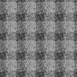 Raster halftone vector pattern Royalty Free Stock Photos