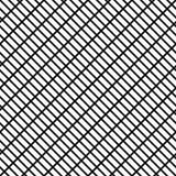 Raster ingrepp med rektangulära celler Galler gallermodell Seaml vektor illustrationer