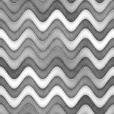 Raster-nahtlose Greyscale Beschaffenheit Steigungs-gewellte Linien Muster Subtiler abstrakter Hintergrund lizenzfreie abbildung