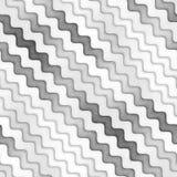 Raster-nahtlose Greyscale Beschaffenheit Steigungs-gewellte Linien Muster Subtiler abstrakter Hintergrund stock abbildung