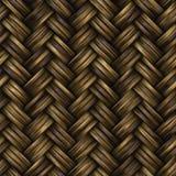 Raster-nahtloses Korb-Twill-Webart-Muster Lizenzfreie Stockbilder