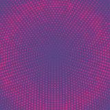 raster Rastrerad vektorbakgrund för Grunge Halvton pricker vektortextur framförde prucken abstrakt bakgrund 3d plats Arkivbilder