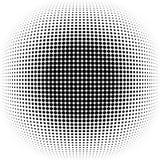 raster Rastrerad vektorbakgrund för Grunge Halvton pricker vektortextur framförde prucken abstrakt bakgrund 3d plats Royaltyfri Fotografi