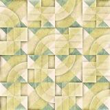 Raster sömlösa geometriska Patttern Royaltyfri Foto