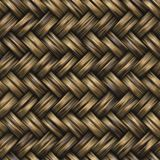 Raster Seamless Basket Twill Weave Pattern Royalty Free Stock Photo