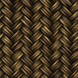 Raster Seamless Basket Twill Weave Pattern Royalty Free Stock Images