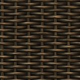 Raster Seamless Basket Wooden Weave Pattern Royalty Free Stock Photo
