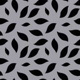Seamless black gray pattern. Black spots on a gray background for the design of textiles vector illustration