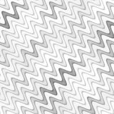Raster Seamless Greyscale Texture. Gradient Wavy Lines Pattern. Subtle Abstract Background Royalty Free Stock Photos