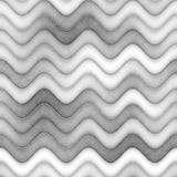 Raster Seamless Greyscale Texture. Gradient Wavy Lines Pattern. Subtle Abstract Background Stock Photography
