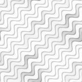 Raster Seamless Greyscale Texture. Gradient Wavy Lines Pattern. Subtle Abstract Background Stock Photo