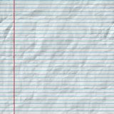 Raster Seamless Horizontal Lines On Folded Paper Texture Royalty Free Stock Image