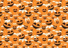 Rasterbeschaffenheit für Halloween, das aus Feiertagselementen besteht Lizenzfreies Stockbild