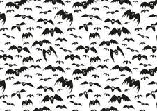 Rasterbeschaffenheit für Halloween, das aus Feiertagselementen besteht Lizenzfreie Stockbilder