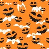 Rasterbeschaffenheit für Halloween, das aus Feiertagselementen besteht Stockbilder