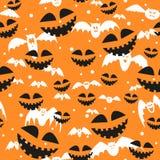 Rasterbeschaffenheit für Halloween, das aus Feiertagselementen besteht Lizenzfreies Stockfoto