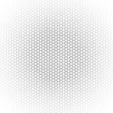 Rasterfeld auf weißem Hintergrund Stockfotografie