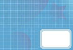 Rasterfeld-Diagramm-Steigung-Stern-Kugel-Auszugs-Hintergrund Lizenzfreie Stockbilder