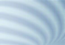 Rasterfeldunschärfen-Hintergrundblau Stockfoto
