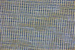 Rastersystem, strukturellt material, på blå abstrakt bakgrund för design och kreativitet Många geometriska former av cell- former fotografering för bildbyråer