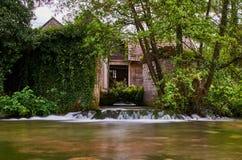 Rastoke vattenfall, Kroatien Royaltyfri Bild