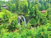 Rastoke village on Korana river. Croatia. Stock Images