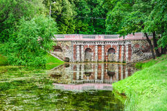 Rastrelli grotto in Lefortovo Park in Moscow Stock Photography