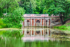 Rastrelli grotto in Lefortovo Park in Moscow Royalty Free Stock Images
