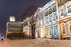Rastrelli Winter Palace Stock Image