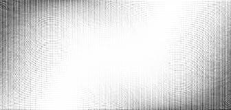 Rastrerad modell för abstrakt monokrom grunge Mjuka dynamiska linjer Rastervektorillustration med prickar stock illustrationer