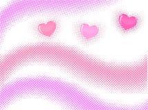 rastrerad vektorwave Royaltyfri Foto