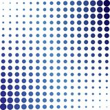 rastrerade blåa prickar stock illustrationer
