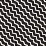 Rastrerade lättretliga linjer mosaisk ändlös stilfull textur seamless vektorwhite för svart modell Royaltyfri Bild