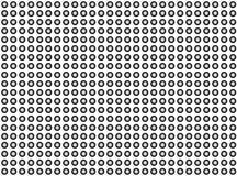 Rastrerade rundor vektor illustrationer