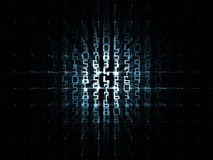 rastret numrerar avstånd Royaltyfri Bild
