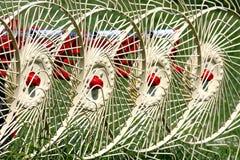 Rastrillo de heno Foto de archivo