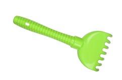 Rastrillo verde Fotografía de archivo libre de regalías