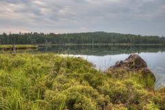 Rastro de Gunflint en el bosque del Estado superior, Minnesota fotografía de archivo